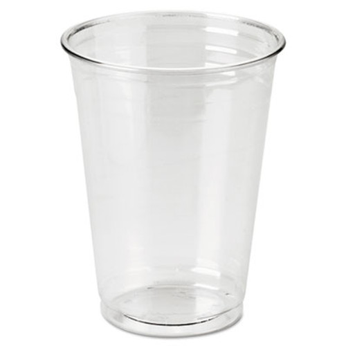 Dixie Clear Plastic PETE Cups, Cold, 10oz, WiseSize, 25/Pack, 20 Packs/Carton (DIX CP10DX)