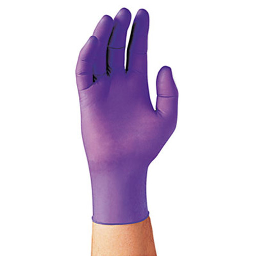 Kimberly-Clark Professional* PURPLE NITRILE Exam Gloves, Large, Purple, 100/Box (KCC 55083)