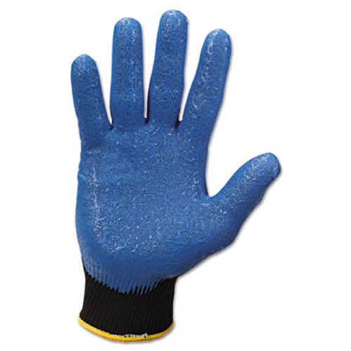 KleenGuard G40 Nitrile Coated Gloves  230 mm Length  Medium Size 8  Blue  12 Pairs (KCC 40226)