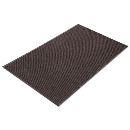 Crown Needle Rib Wipe and Scrape Mat  Polypropylene  36 x 120  Brown (CRO NR310 BRO)
