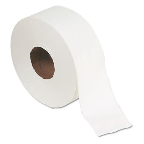 Georgia Pacific Professional Jumbo Jr  Bath Tissue Roll  Septic Safe  2-Ply  White  1000 ft  8 Rolls Carton (GPC 137-28)