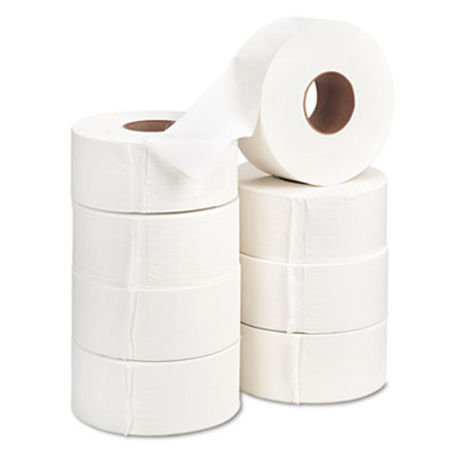 Georgia Pacific Professional Jumbo Jr  Bath Tissue Roll  Septic Safe  2-Ply  White  1000 ft  8 Rolls Carton (GPC 137-28)