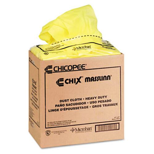 Chix Masslinn Dust Cloths  24 x 24  Yellow  50 Bag  2 Bags Carton (CHI 0911)