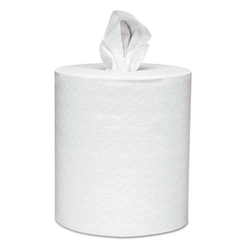 Scott Essential Roll Control Center-Pull Towels   8 x 12  White  700 Roll  6 Rolls CT (KCC 01032)