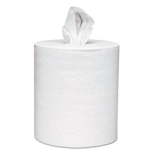 Scott Essential Roll Control Center-Pull Towels   8 x 12  White  700 Roll  6 Rolls CT (KCC 01032)