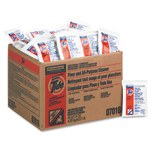 Tide Professional Floor   All-Purpose Cleaner  1 5oz Packets  100 Carton (PGC 02370)