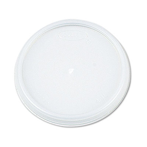 Dart Plastic Lids  for 8oz Hot Cold Foam Cups  Vented  1000 Lids Carton (DCC 8JL)
