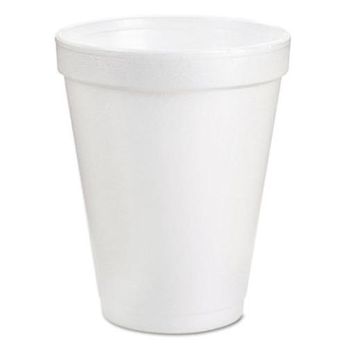 Dart Foam Drink Cups  8oz  White  25 Bag  40 Bags Carton (DCC 8J8)