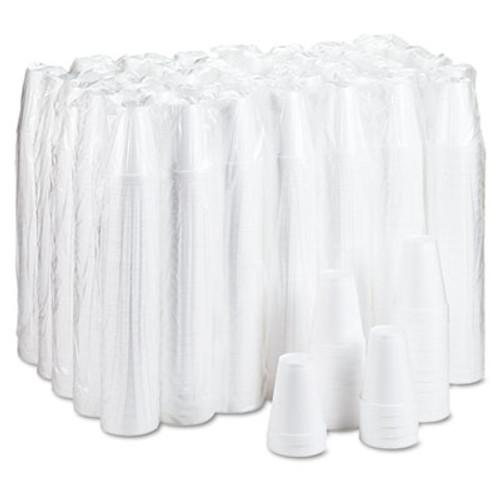 Dart Foam Drink Cups  12oz  White  25 Bag  40 Bags Carton (DCC 12J12)