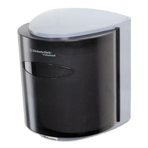 Scott Roll Control Center Pull Towel Dispenser  10 3 10w x9 3 10 x11 9 10h  Smoke Gray (KCC 09989)