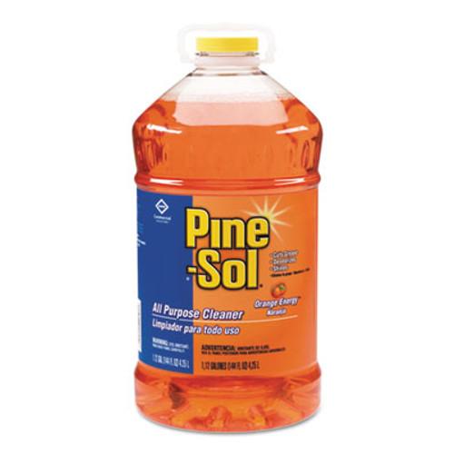 Pine-Sol All-Purpose Cleaner  Orange Energy  144 oz Bottle  3 Carton (CLO 41772)