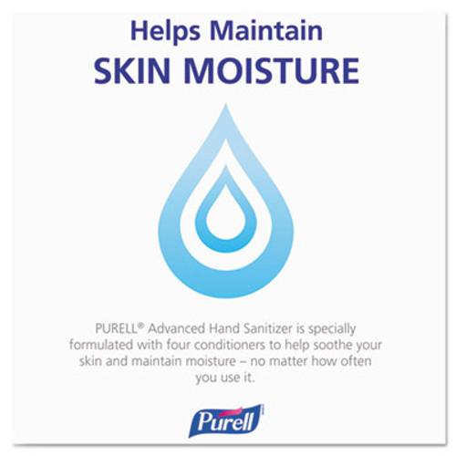 PURELL Advanced Hand Sanitizer Refreshing Gel  Clean Scent  20 oz Pump Bottle  12 Carton (GOJ 3023-12)