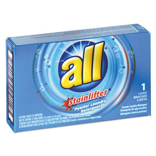 All Ultra HE Coin-Vending Powder Laundry Detergent  1 Load  100 Carton (VEN 2979267)
