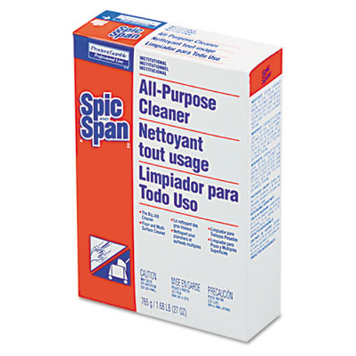 Spic and Span All-Purpose Floor Cleaner  27 oz Box  12 Carton (PGC 31973)