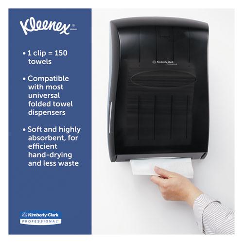 Kleenex Multi-Fold Paper Towels  4  4PK Bundles  9 1 5x9 2 5  White  150 Pack  16 Carton (KCC 88130)