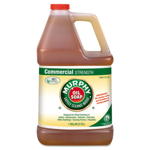 Murphy Oil Soap Cleaner  Murphy Oil Liquid  1 Gal Bottle  4 Carton (MUR 01103)