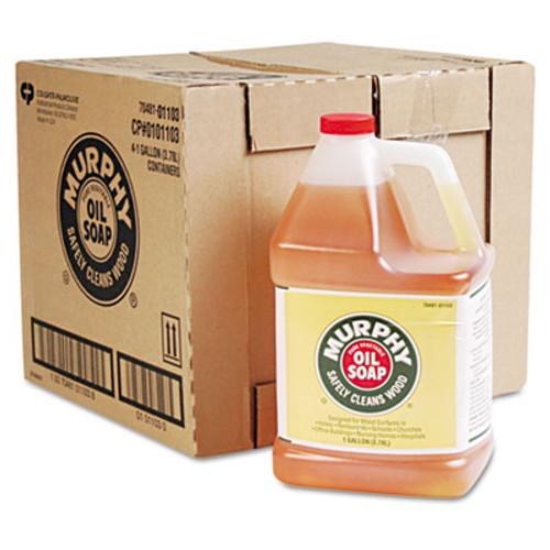 Murphy Oil Soap Cleaner  Murphy Oil Liquid  1 Gal Bottle  4 Carton (MUR 01103)
