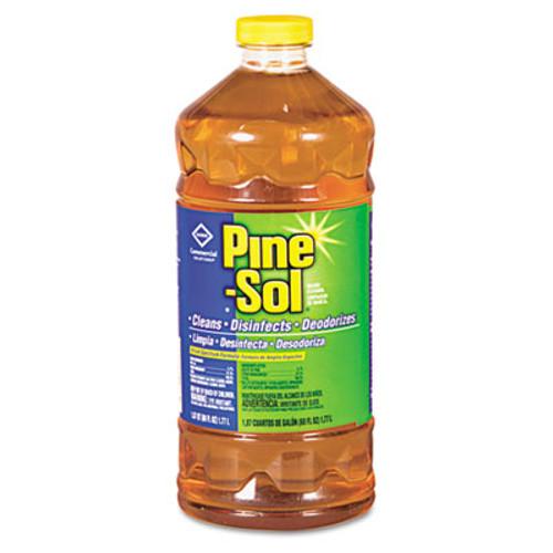 Pine-Sol Multi-Surface Cleaner Disinfectant  Pine  60oz Bottle  6 Bottles Carton (CLO 41773)