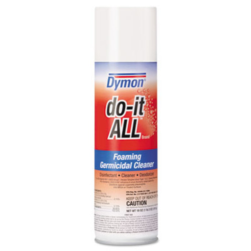Dymon do-it-ALL Germicidal Foaming Cleaner, 18oz Aerosol, 12/Carton (DYM 08020)