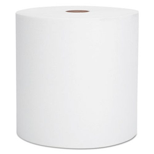 Scott Essential Hard Roll Towel  1 5  Core  8 x 800ft  White  12 Rolls Carton (KCC 01040)