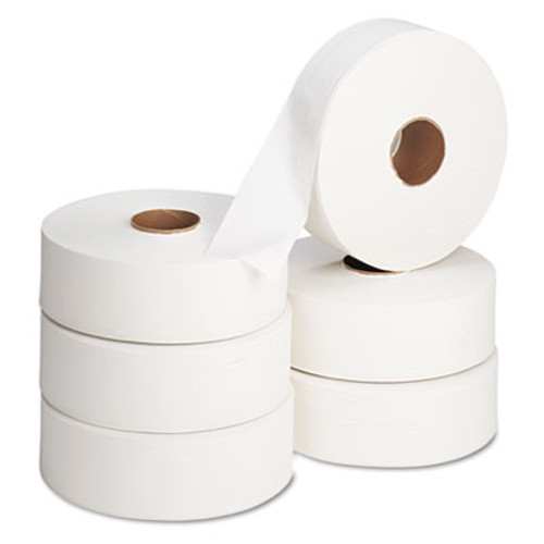 Georgia Pacific Professional Jumbo Roll Bath Tissue  Septic Safe  2 Ply  White  2000 ft  6 Rolls Carton (GPC 131-02)