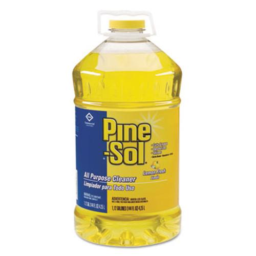 Pine-Sol All Purpose Cleaner  Lemon Fresh  144 oz Bottle (CLO35419EA)
