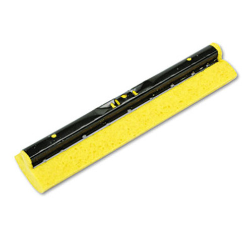 Rubbermaid Commercial Mop Head Refill for Steel Roller  Sponge  12  Wide  Yellow (RCP 6436 YEL)