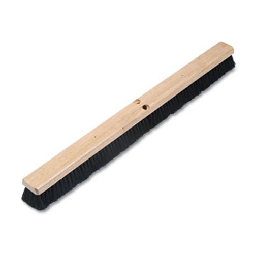 Boardwalk Floor Brush Head  2 1 2  Black Tampico Fiber  36  (BWK 20236)