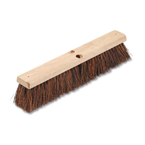 Boardwalk Floor Brush Head  3 1 4  Natural Palmyra Fiber  18  (BWK 20118)