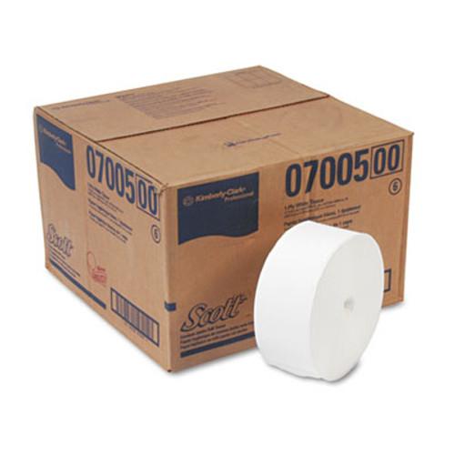 Scott Essential Coreless JRT  Septic Safe  1-Ply  White  2300 ft  12 Rolls Carton (KCC 07005)