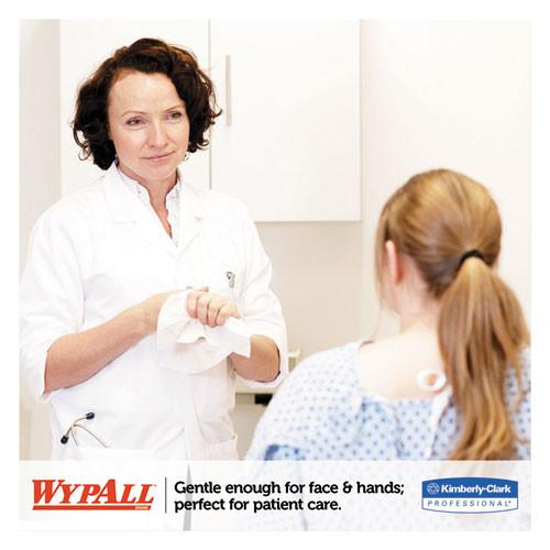 WypAll L40 Towels  POP-UP Box  White  16 2 5 x 9 4 5  100 Box  9 Boxes Carton (KCC 05790)