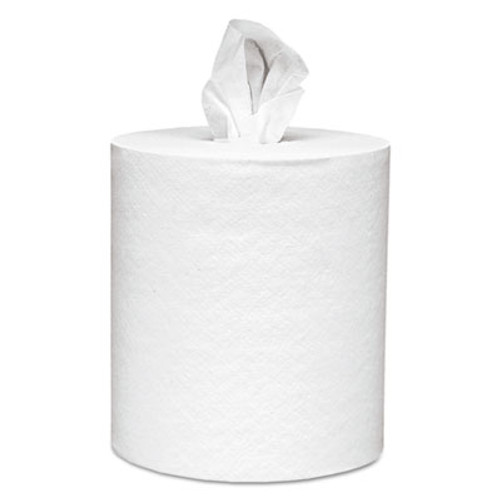 Scott Center-Pull Paper Roll Towels, 8 x 15, White, 500/Roll, 4 Rolls/Carton (KCC 01051)