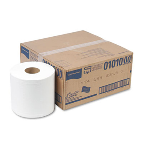 Scott Essential Center-Pull Towels  Absorbency Pockets 2Ply  8 x 15 500 Roll 4 Roll CT (KCC 01010)