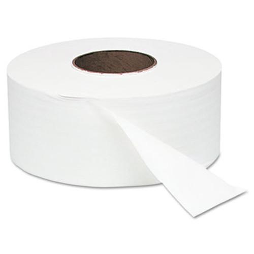 Windsoft Jumbo Roll Bath Tissue  Septic Safe  1 Ply  White  3 4  x 2000 ft  12 Rolls Carton (WIN 200)