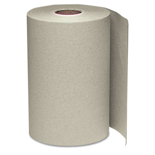 Windsoft Hardwound Roll Towels  8 x 350 ft  Natural  12 Rolls Carton (WIN 108)