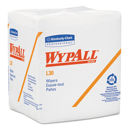 WypAll* L30 Wipers, 12 1/2 x 12, 90/Box, 12 Boxes/Carton (KCC 05812)