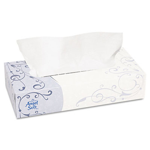 Georgia Pacific Professional Premium Facial Tissue  2-Ply  White  Flat Box  100 Sheets Box  100 Box (GPC 485-80)