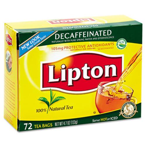 Lipton Tea Bags  Decaffeinated  72 Box (LIP 290)