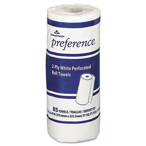 Georgia Pacific Professional Perforated Paper Towel Roll, 8 4/5 x 11, White, 85/Roll, 30 Rolls/Carton (GPC 273-85)