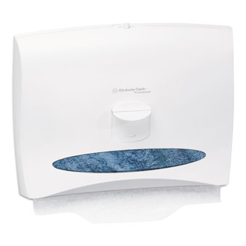 Kimberly-Clark Professional* Personal Seats Toilet Seat Cover Dispenser, 17 1/2 x 2 1/4 x 13 1/4, White (KCC 09505)
