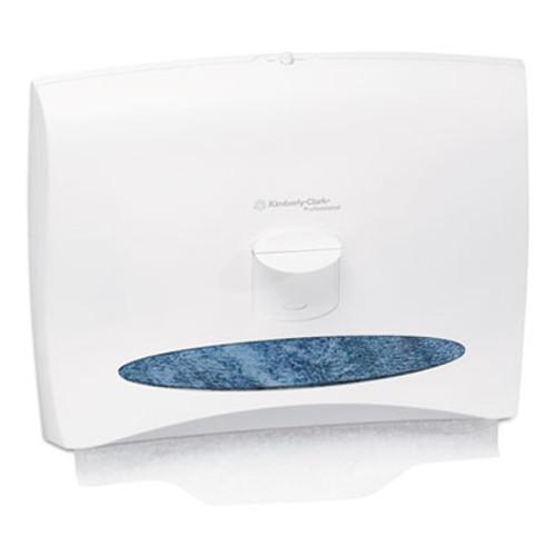 Scott Personal Seat Toilet Seat Cover Dispenser  17 1 2 x 2 1 4 x 13 1 4  White (KCC 09505)