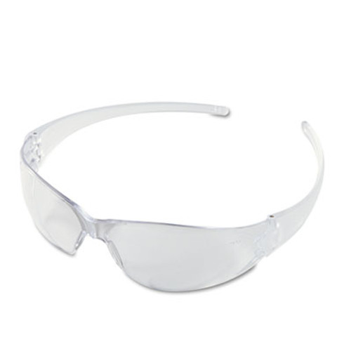 MCR Safety Checkmate Wraparound Safety Glasses  CLR Polycarbonate Frame  Coated Clear Lens (CWS CK110)