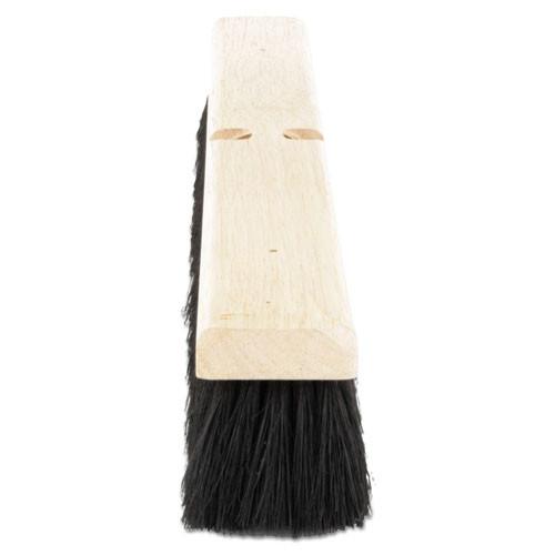 Boardwalk Floor Brush Head  2 1 2  Black Tampico Fiber  24  (BWK 20224)