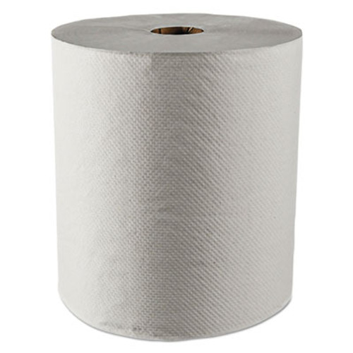 Scott Essential 100  Recycled Fiber Hard Roll Towel  1 5  Core White 8  x 800ft  12 CT (KCC 01052)