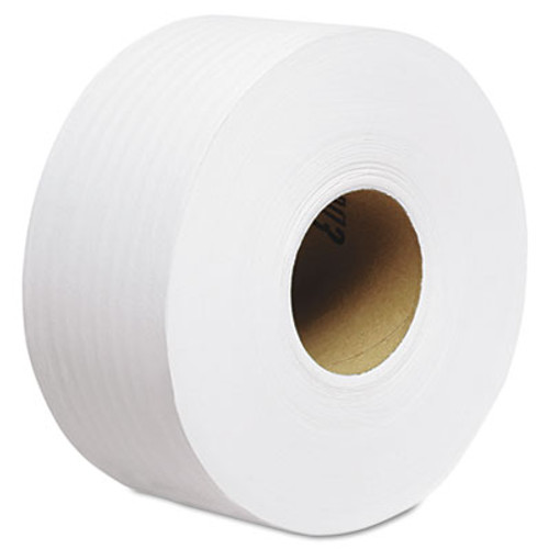 Scott Essential 100  Recycled Fiber JRT Bathroom Tissue  Septic Safe  2-Ply  White  1000 ft  12 Rolls Carton (KCC 67805)