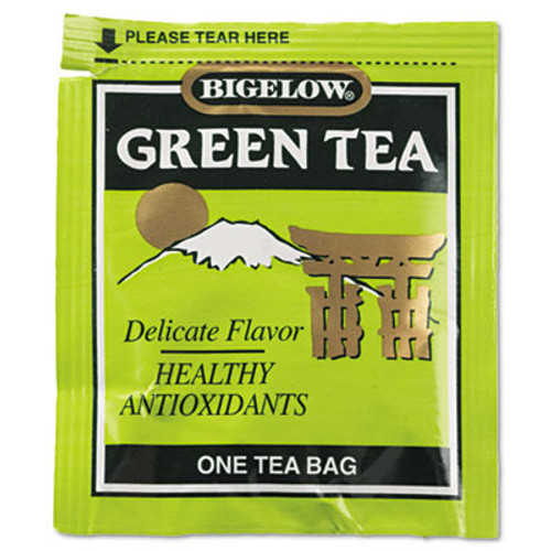 Bigelow Single Flavor Tea  Green  28 Bags Box (BTC00388)