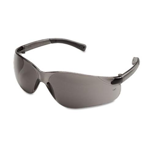 Crews BearKat Safety Glasses, Wraparound, Gray Lens (CWS BK112)
