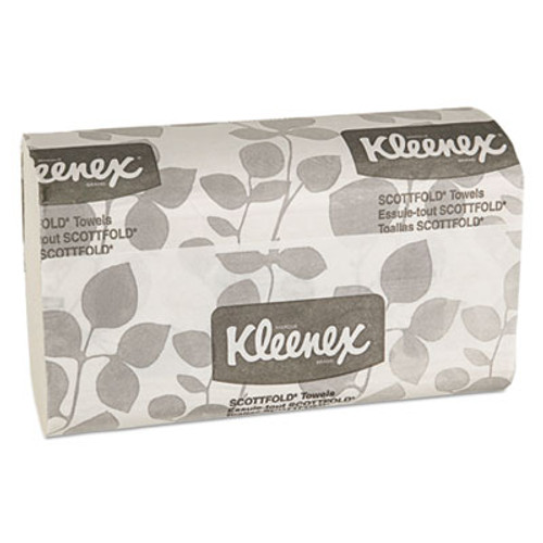Kleenex Premiere Folded Towels  9 2 5 x 12 2 5  White  120 Pack  25 Packs Carton (KCC 13254)