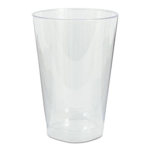 WNA Plastic Tumblers  Cold Drink  Clear  12 oz   500 Case (WNA T12)