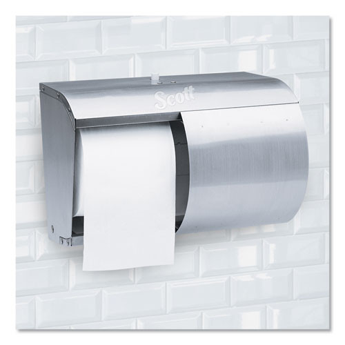 Scott Pro Coreless SRB Tissue Dispenser  7 1 10 x 10 1 10 x 6 2 5  Stainless Steel (KCC 09606)